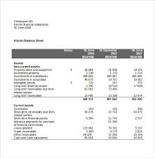 Income Statement Template Word
