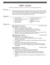 Maintenance Supervisor Sample Resume Maintenance Supervisor Resume
