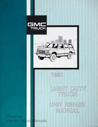 gmc truck service manuals original shop books factory repair manuals original gmc truck factory service manual