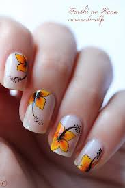 Flower nail art for smmer 30