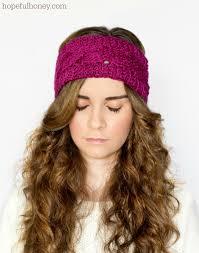 Ear Warmer Crochet Pattern Custom Cable Crochet Headband Pattern Crochet And Knit