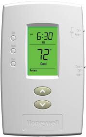 Heat Cool 5 2 Day Programmable Thermostat Pro 2000 Honeywell