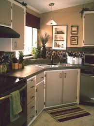 Kitchen Cabinet Budget Gorgeous Budget Kitchen Makeover Mobile Home 48 Dollars DIY Wow Inspiring