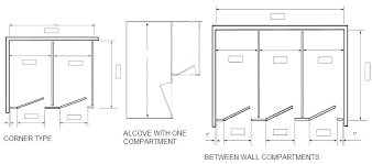bathroom stall parts. Bathroom Stall Dimensions Commercial Stalls Sizes Com Parts