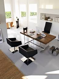 stylish home office furniture desk and chair modern home office furniture home design ideas pictures remodel acrylic office furniture home