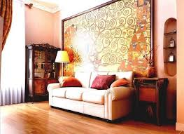 large framed african art piece