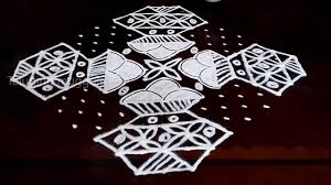 Bhogi Muggulu Designs With Dots Bhogi Kundalu Kolam Designs With17 3 3 Straight Chukkala