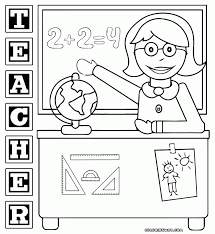 Adult Teacher Appreciation Coloring Pages Teacher Appreciation