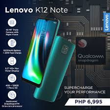 Lenovo to Bring the K12 Note to the ...