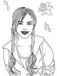 Small Picture Romantic Musical Drama High School Musical Coloring Page Romantic