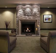 decorative stone fireplace interior delectable living room decoration using solid cherry