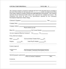 bid form example sample bid forms military bralicious co