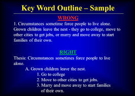 A keyword outline is a device used by public speakers to condense major points. Introduction To Persuasive Speaking Part 8 Key Word Outline John E Clayton Nanjung University Spring Ppt Download