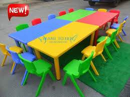nursery school child kids study table only without chairs