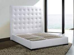 white modern platform bed. New York NYC White Modern Platform Bed Delano - $1,050.00 Modern-bedroom T