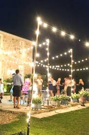 outdoor lighting ideas for parties. Unique Parties Backyard Night Party Ideas Outdoor Wedding Lighting  Best On Throughout Outdoor Lighting Ideas For Parties