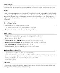 Media Resume Template Resume Template Construction Template For Writing A Resume Social