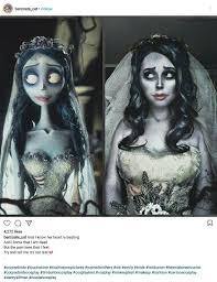 tim burton s corpse bride cosplay costume on insram