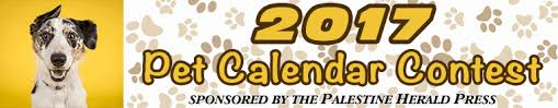 november calendar header palestine herald press 2017 pet calendar contest
