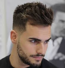 9 short sides with um length hair on top