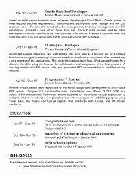 Software Testing Resume Format Elegant Testing Resume Samples