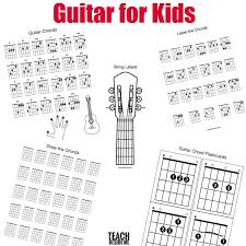 Chord Charts For Kids