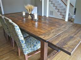 Suzy Q Better Decorating Bible Blog Diy Rustic Dining Table Rough Farmhouse  Plants Lacquer How To Budget Restoration Hardware Heavy Table Big Family  Eight ...