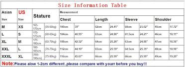 Image Result For Asian Xxxl Size Chart Hat Sizes Height