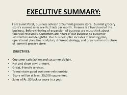 executive business plan template a project on business plan