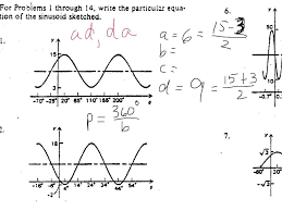 writing trig equations from graphs worksheet worksheets for all and share worksheets free on bonlacfoods com