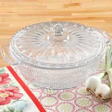 the pioneer woman adeline 2 5 qt glass casserole w lid