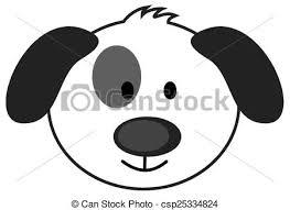 dog face clipart. Wonderful Dog Cute Dog Face In Dog Face Clipart C