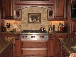 Brick Backsplash Tile Wonderful Brown Kitchen Backsplash Diy Brown Kitchen Backsplash 5882 by guidejewelry.us