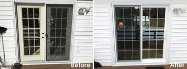 new sliding patio door matches state college home