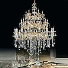 large crystal chandelier chandeliers modern chrome lighting dining room luxury home lamp whole