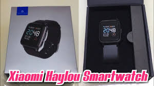 Xiaomi <b>Haylou</b> Smartwatch Unboxing & Hands On - LS01 - Global ...