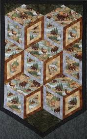 Best 25+ Wildlife quilts ideas on Pinterest | Panel quilts, Fabric ... & Diamonds of Yellowstone. Mens Quilts3d QuiltsFabric Panel QuiltsWildlife ... Adamdwight.com