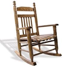 Slat Child Rocking Chair Hardwood Home Furniture