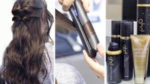 how to curl your hair with a straightener ghd platinum
