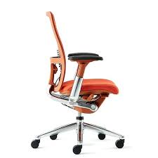 orange desk chair with chrome nz