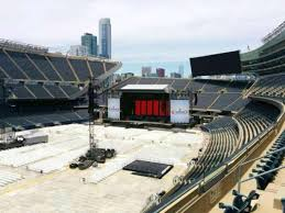 Soldier Field Seating Chart Grateful Dead 2015 Soldier Field Section 314 Home Of Chicago Bears