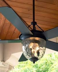 outdoor ceiling fans with lights. Bronze Outdoor Ceiling Fan - Horchow Fans With Lights W