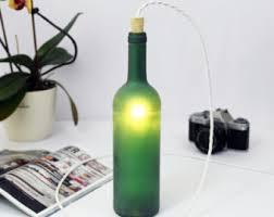wine bottle lighting. green wine bottle lamp table light glass floor lighting