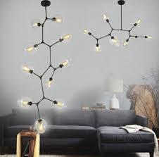 replica lindsey adelman lamp globe branching bubble chandelier glass ball lamp modern pendant chandelier fixture