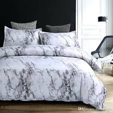 gray and white duvet cover modern marble printed bedding set brief grey white duvet cover sets