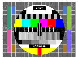 Television Test Pattern Simple Design Ideas
