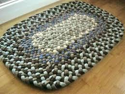 oval bathroom rugs oval bath mat handmade wool oval braided rug or bath mat in sky oval bathroom rugs