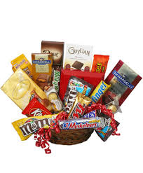 chocolate basket gift basket