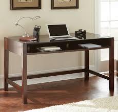 espresso modern writing desk
