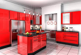 black and red kitchen designs. Stunning Red Kitchen Design And Decorating Ideas Black Designs